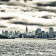 Stock Photo: Skyline of Manhattan, NYC