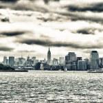 Skyline of Manhattan, NYC — Stock Photo