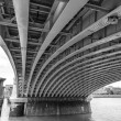 Under the bridge — Stock Photo