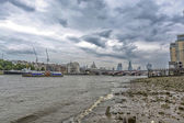 Different view of London skyline — Stock Photo