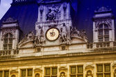 Hotel de ville - Parigi — Foto Stock