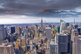 Beautiful view of  New York City skyline — Stock Photo