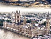 Aerial view of Westminster, London — Stock Photo