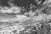 The dolomities mountain — Foto Stock