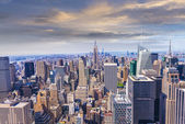 Beautiful view of  New York City skyline — Foto Stock
