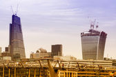 Skyline de New london — Photo