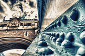 Detalhes da ponte da torre de Londres — Fotografia Stock