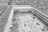 Aereal view of San Marco square in Venice — Stock Photo