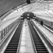 Escalator in underground station — Stock Photo #45665573