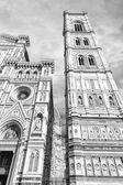 Wieża katedry we florencji. — Zdjęcie stockowe
