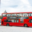 The red double decker bus. — Stock Photo #45797047