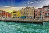 Along the canals of Venice — Stok fotoğraf