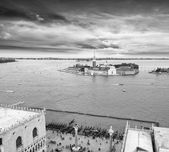 Aereal view of Venice — Stock Photo