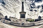 Trafalgar Square, London — Stock Photo