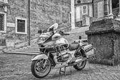 Motocycle police in Rome — Foto de Stock