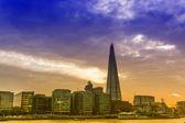 Gün batımında Londra manzarası — Stok fotoğraf