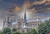 Notre Dame Cathedral, Paris — Foto de Stock