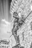The Michelangelo's David. — Stock Photo