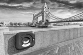 Particular view of London Bridge — Stock Photo