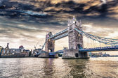 London Bridge at sunset — Stock Photo