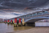 Southwark Bridge in London — Stock Photo