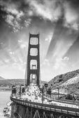 Beautiful view of Golden Gate bridge — Stock Photo