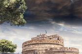 カステル美しい空、ローマ聖アンジェロ — ストック写真