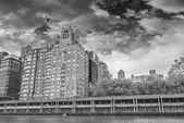 New York buildings with beautiful sky — Stock Photo