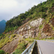 The road in mountains (serpentine) against the sky — Stock Photo