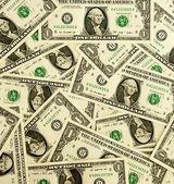 Background from money - 1 dollar — Stock Photo