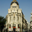 Metropolis Building, Madrid. — Stock Photo