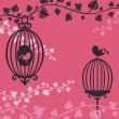 Vector de stock : Birdcage