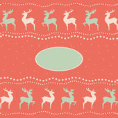 Reindeers — Stock Vector