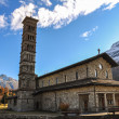 St. Karl Church in St.Moritz-Bad in Switzerland — Stock Photo #24266753