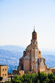 St Paul Basilica at Harissa near Beirut in Lebanon — Stock Photo