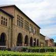 Sideview of the North Facade of the Stanford University Building in Palo Alto, California — Stock Photo