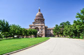Texas State Capitol Building in Downtown Austin on a Sunny Day — Stock Photo