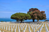 Fort Rosecrans National Cemetery at Point Loma in San Diego, Cal — Stock Photo