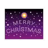 Title Merry Christmas — Stock Vector