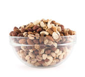 Almond, pistachio, peanut, walnut, hazelnut mix — Stock Photo