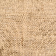 Hessian burlap cloth texture background — Stock Photo
