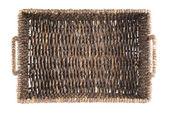 Brun rotting korg isolerade — Stock fotografie