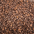 Coffee bean surface as a background — Stock Photo