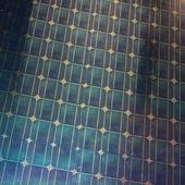Frammento di pannello solare modulo fotovoltaico — Foto Stock
