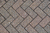 Herringbone brick pattern — Stock Photo