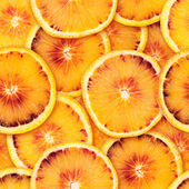 Sliced orange seamless background — Stock Photo