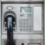 Public payphone card telephone — Stock Photo #26741255