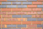 Brick wall composition — Stock Photo