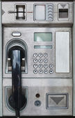 Public payphone card telephone — 图库照片