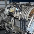Old aircraft engine — Stock Photo #27232121